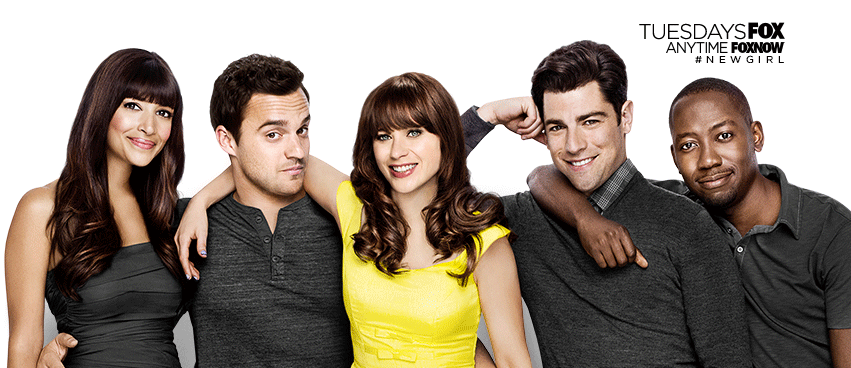 2 All New Episodes of New Girl Tuesday at 8 and 9!