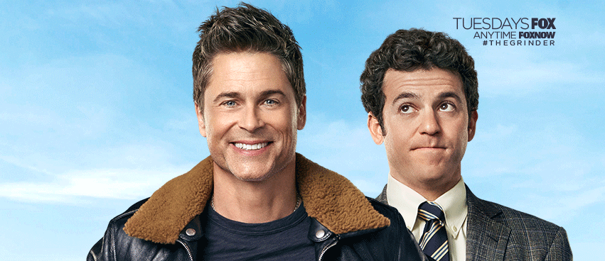 All New Episode of The Grinder Tuesday at 9:30!