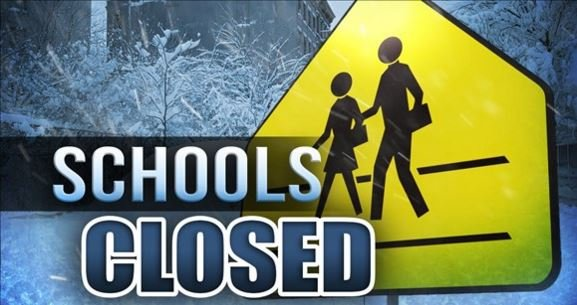 Whitney point schools will be closed Monday