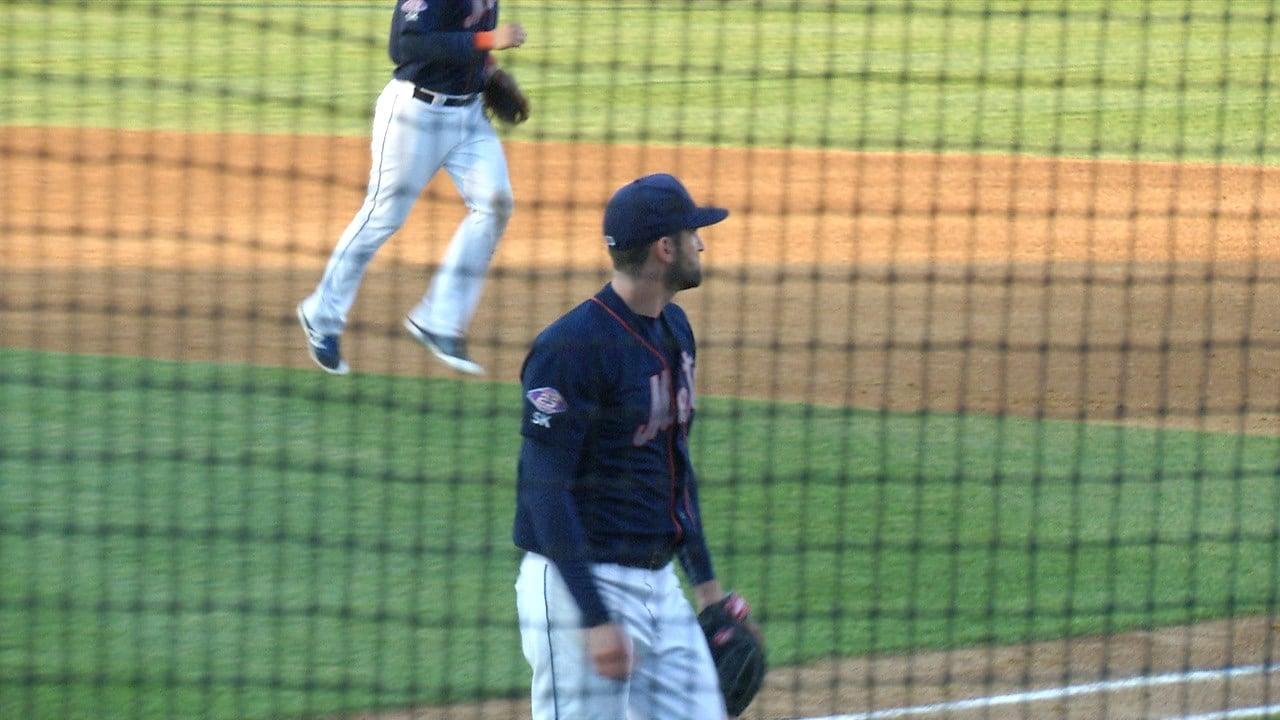 B-Mets Pitcher Josh Zeid