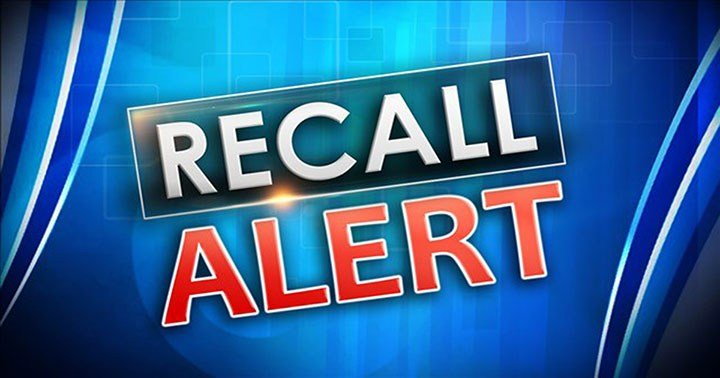 Consumer Recall Alert