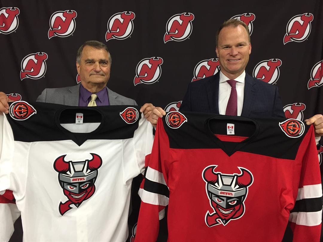 Binghamton Devils Jerseys, Logos