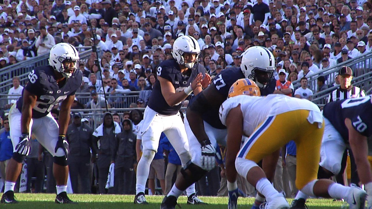 Penn State pounds Pitt on both sides of the ball