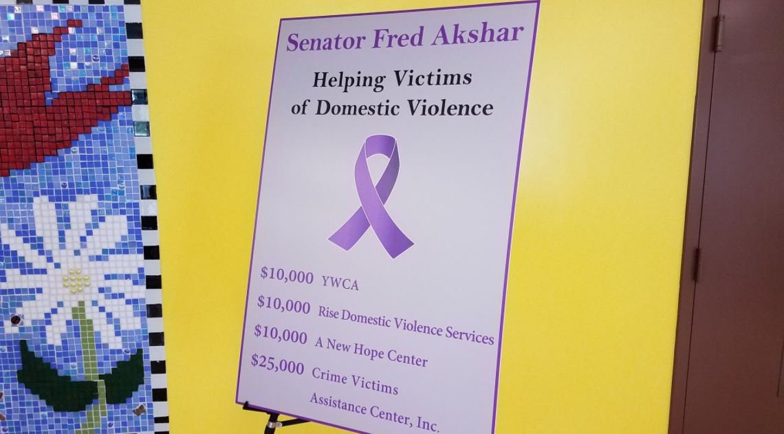 Local organizations receive $55K to help victims of domestic violence