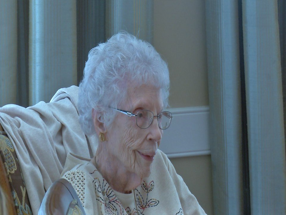 Goldie Small celebrates her 110th birthday