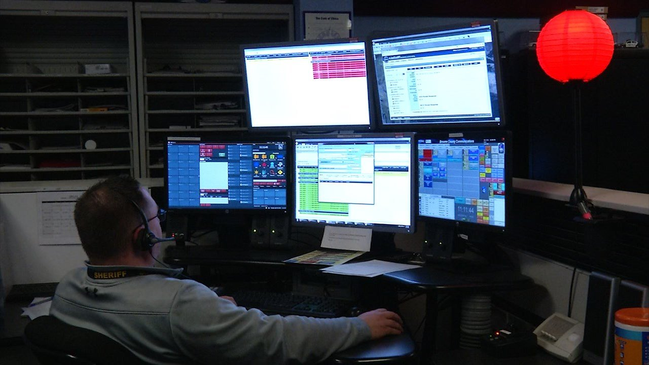 Behind the scenes with emergency dispatchers