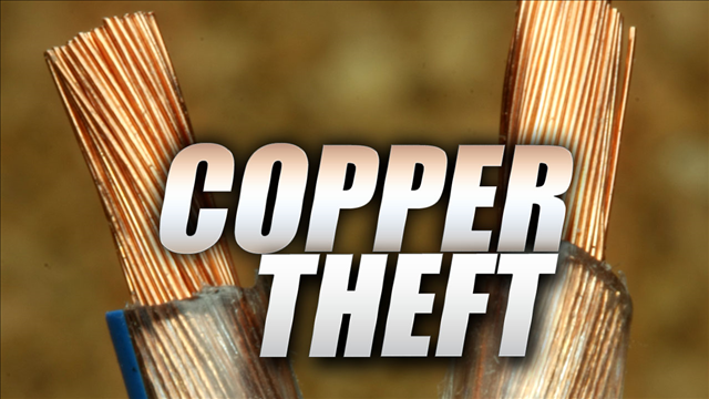 Vacant Homes Targeted For Copper