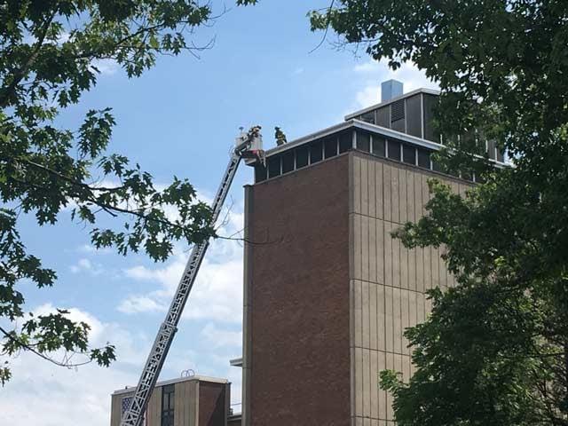 BU Facilities Building Fire