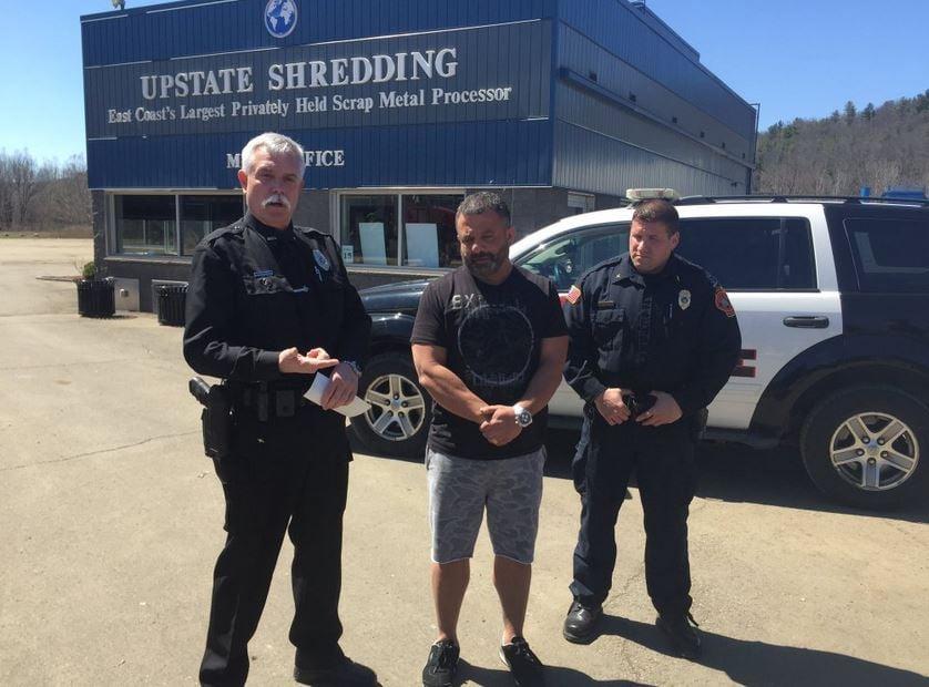 Upstate Shredding Donates 10000 To Spencer Police