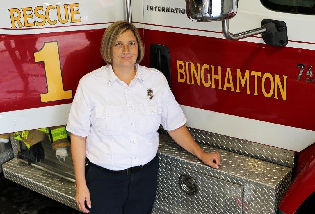 New Binghamton fire chief is 31-year veteran