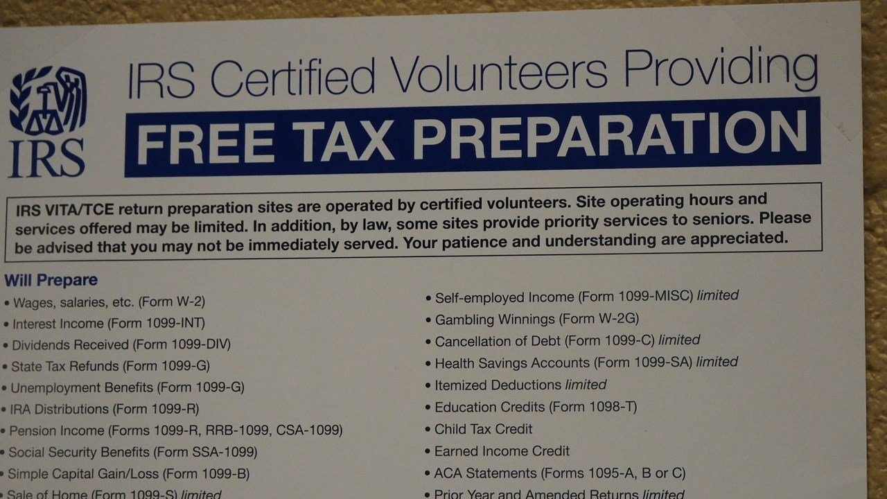 Free Tax Prep Services Offered At United Way Fox 40 Wicz Tv News