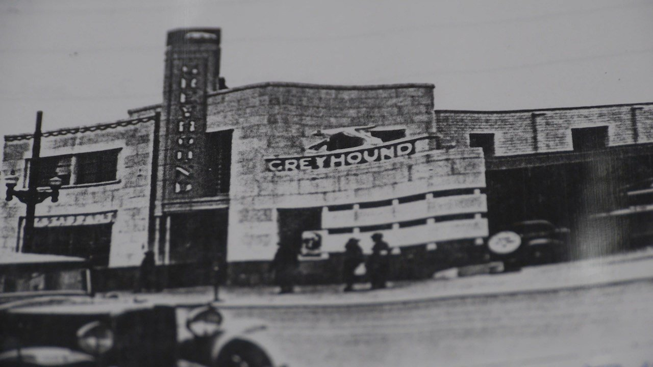 a retro ride: the old greyhound bus station - fox 40 wicz tv - news