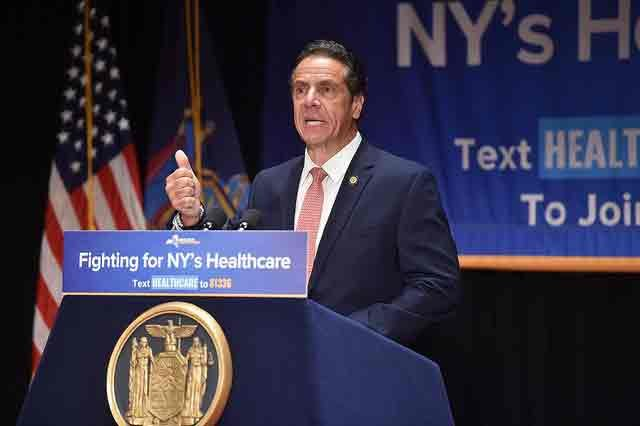 On July 30, 2018, Gov. Andrew Cuomo in Manhattan
