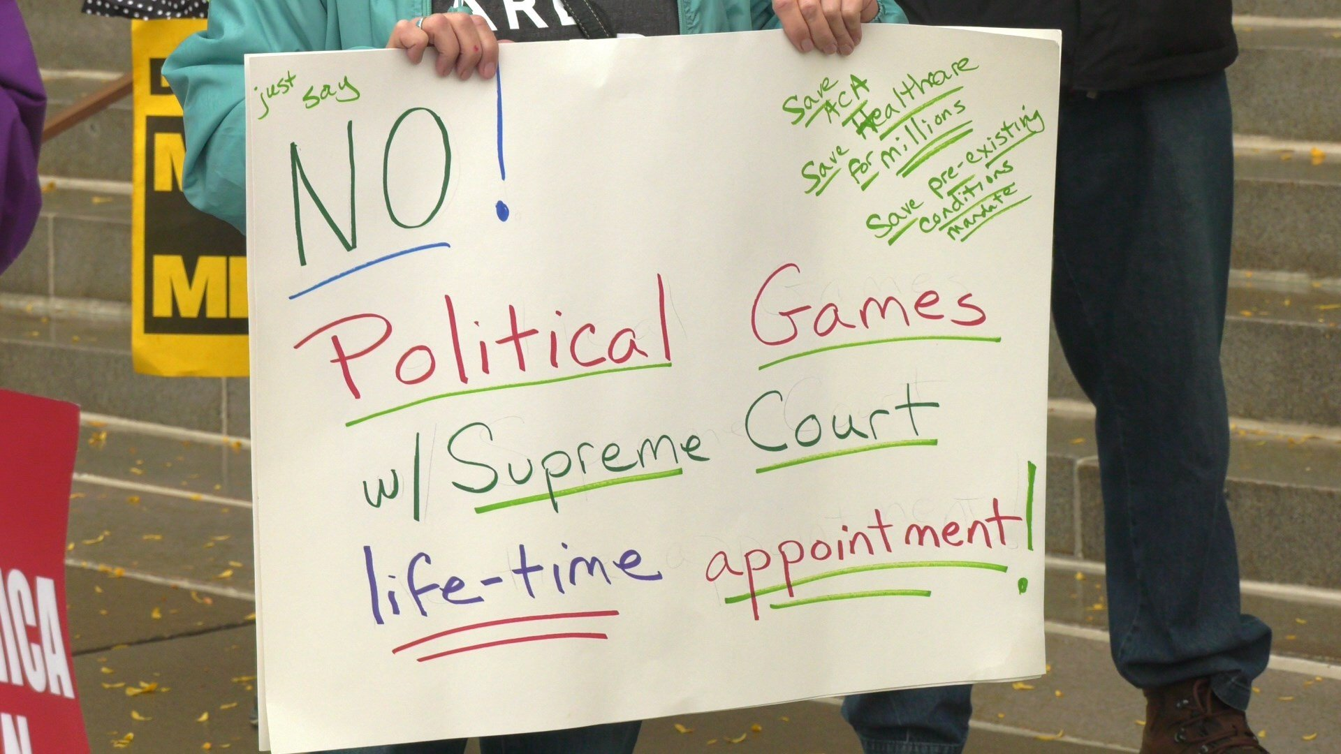 Activists Speak Out Against Rushing Supreme Court Nomination