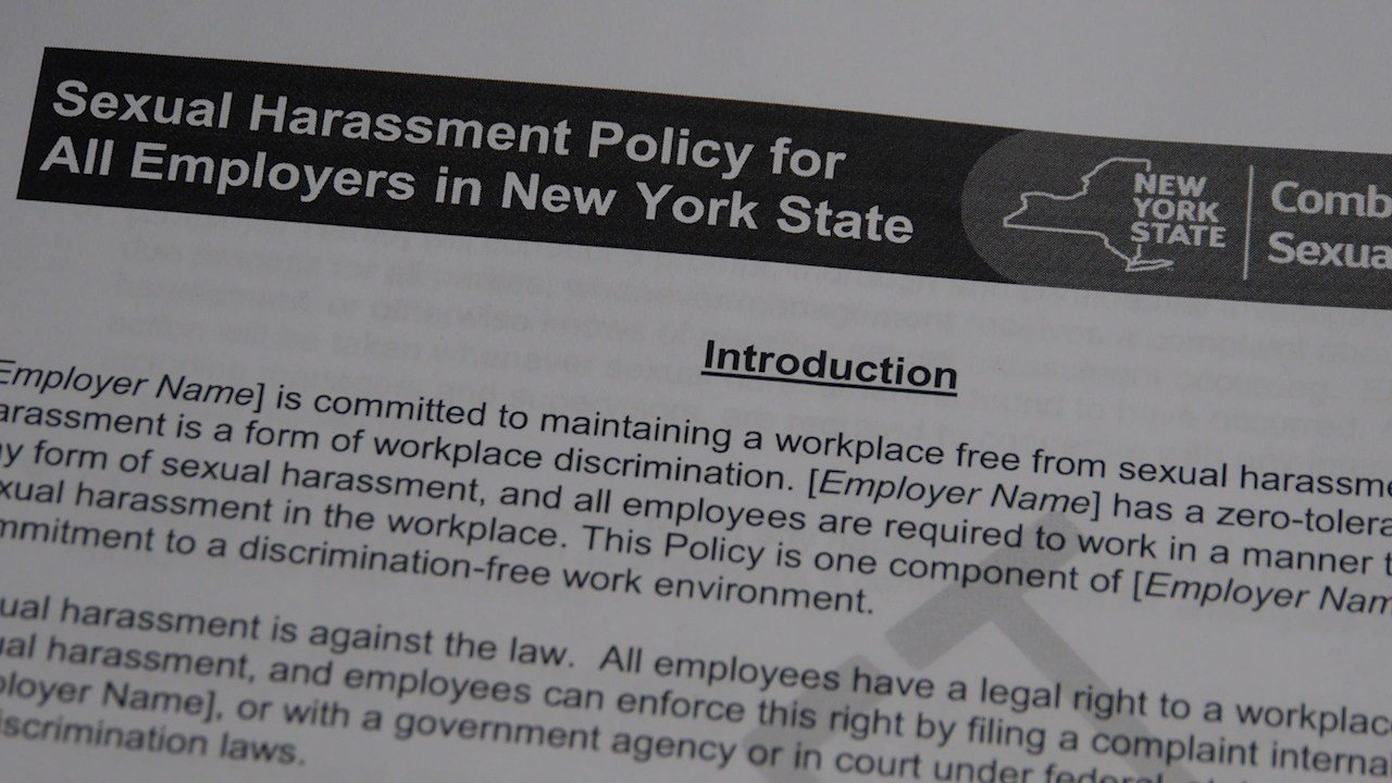 Sexual harassment law new york state