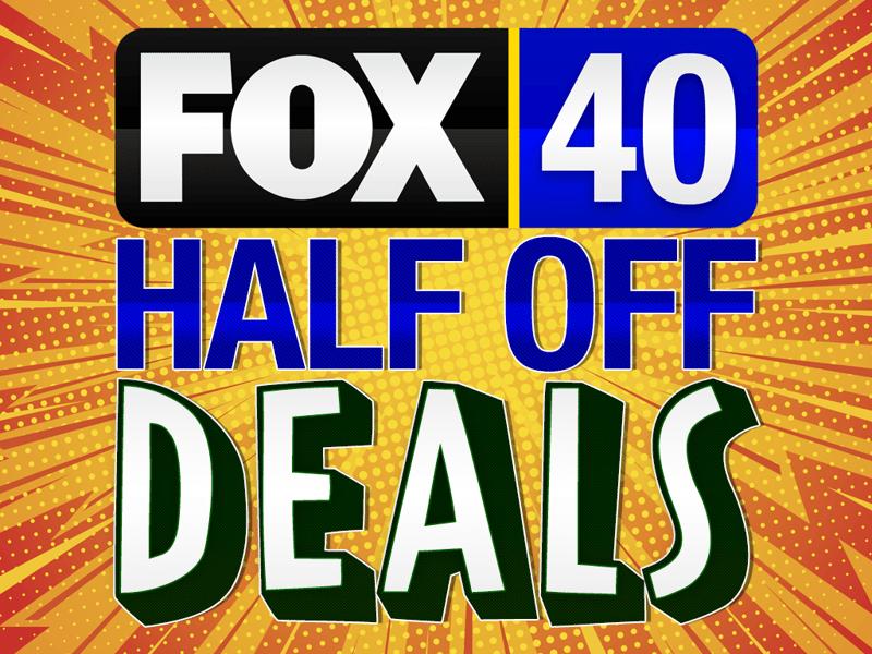 FOX 40 Half Off Deals - FOX 40 WICZ TV - News, Sports, Weather