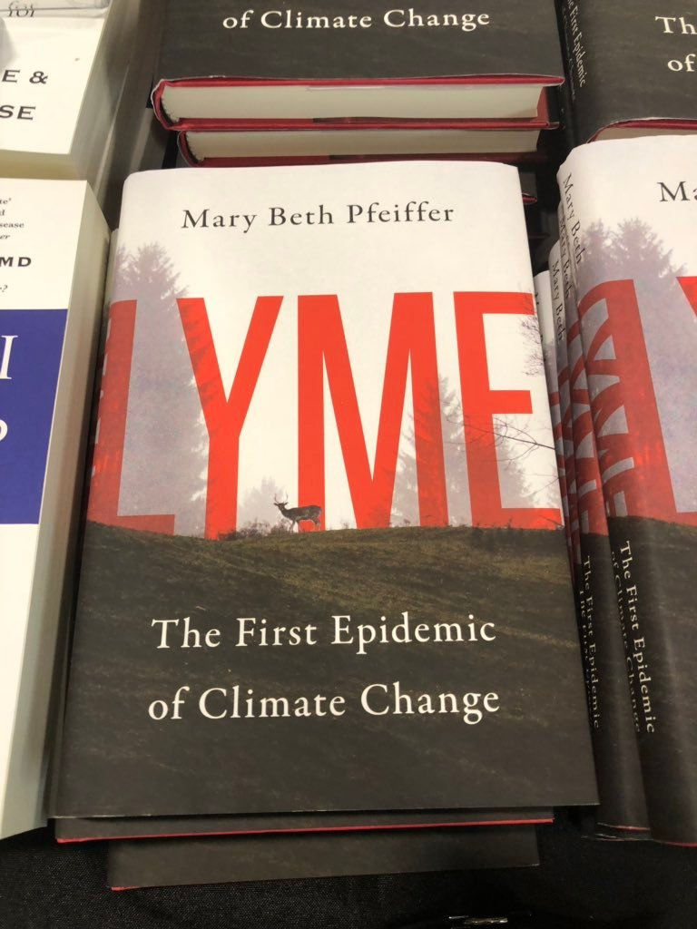 lyme the first epidemic of climate change