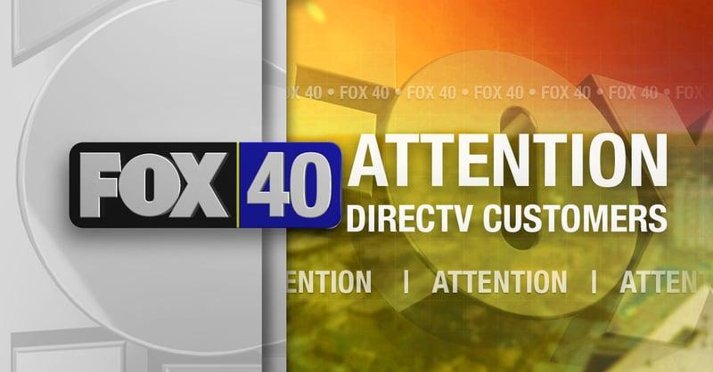 ATTENTION DIRECTV CUSTOMERS - FOX 40 WICZ TV - News, Sports, Weather
