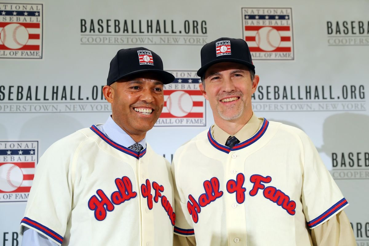 Mariano Rivera, Mike Mussina Inducted into the Baseball Hall of - FOX 40  WICZ TV - News, Sports, Weather, Contests & More