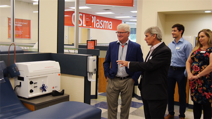 CSL Plasma Welcomes Donors at New Center in Endwell - FOX 40