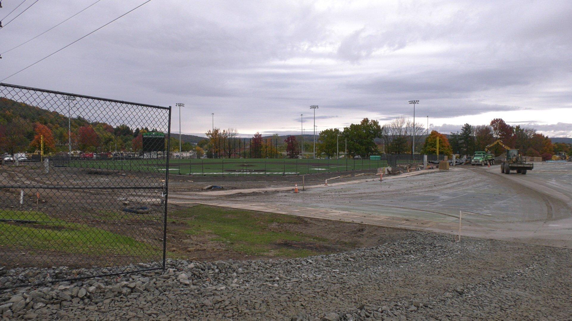 Binghamton University Spring 2022 Calendar.Binghamton University S Baseball Complex Construction Is Well Un Wicz
