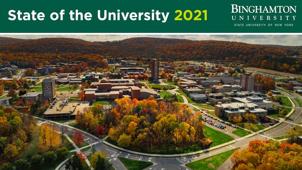 Binghamton Calendar 2022.Bu President Stenger Gives Preview Of Annual State Of The Univer Wicz