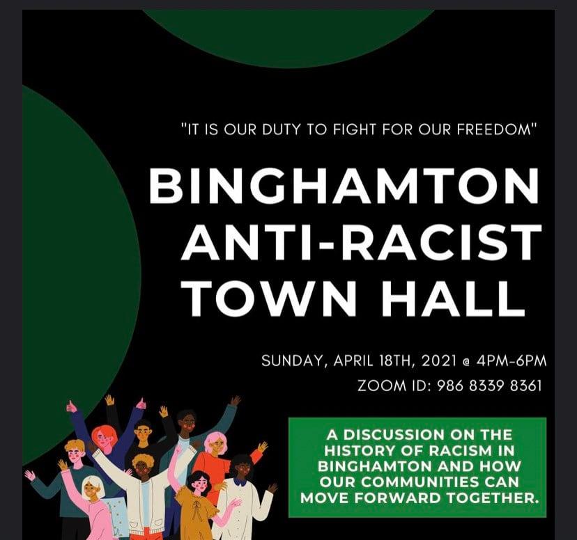 Binghamton Calendar 2022.Binghamton University Faculty Lead An Anti Racist Town Hall Wicz