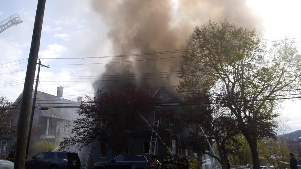 Binghamton Calendar 2022.Front Street House Fire Displaces Members Of Binghamton Universi Wicz